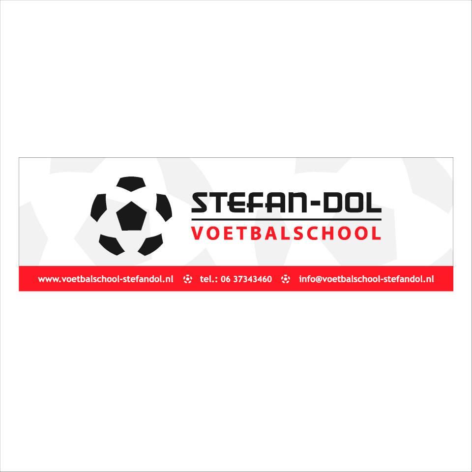Reclamebord-voetbalschool-Stefan-Dol
